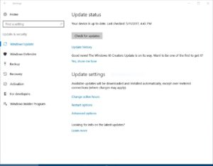 W10 Screenshot